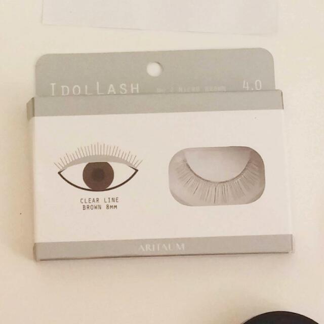 🚩PENDING🚩AritaumIdollash 4.0 - Micro Brown 8mm | Korean False Lashes