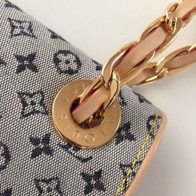 Auth Louise Vuitton Limited Edition Mini Monogram Camille Bag