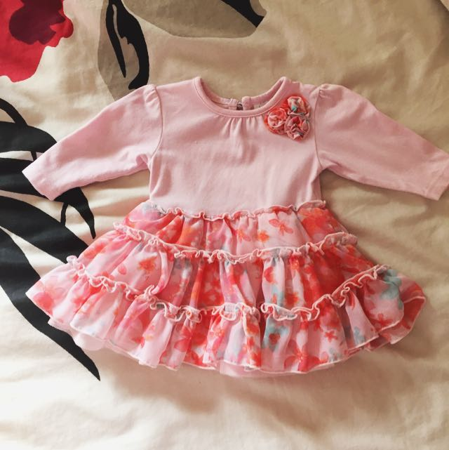 Baby Pink Dress Size 0000