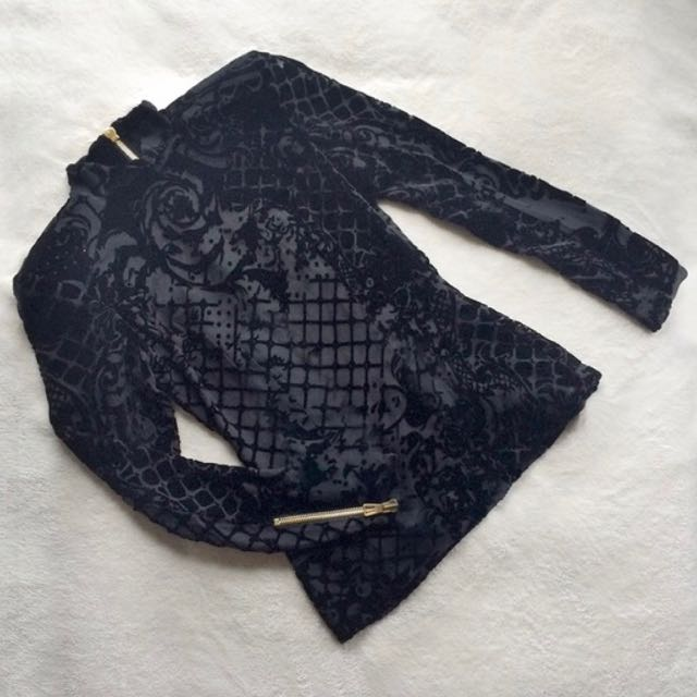 Balmain And H&M Blouse Size 4 Brand New With Tags