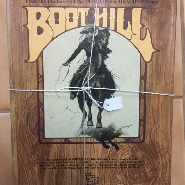 Boot Hill Vintage Game
