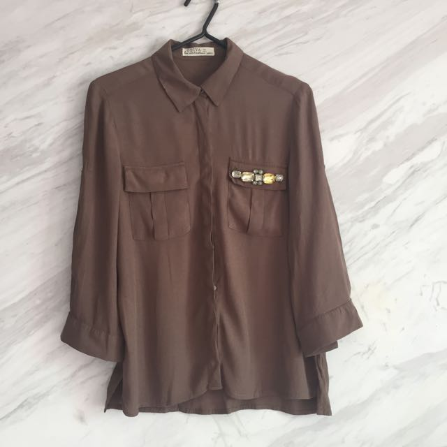 Brown Colour Shirt