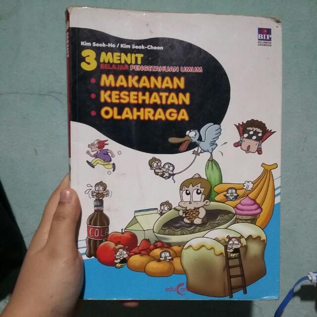 Buku Komik 3 Menit Belajar Pengetahuan