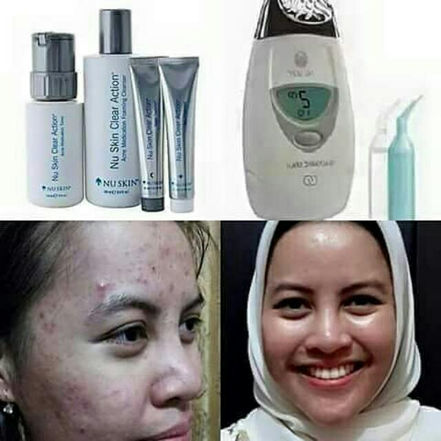 Clear Action & Galvanic Spa Nu Skin