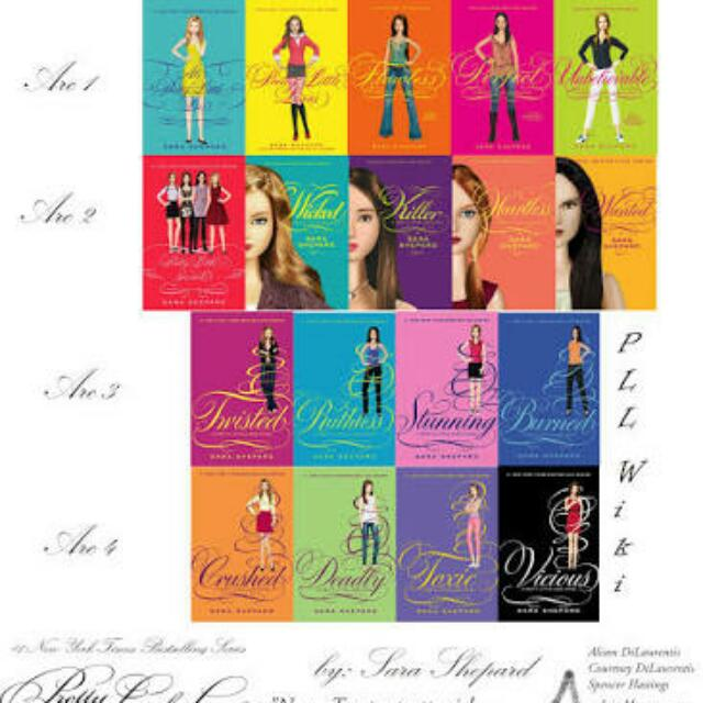 Complete Pretty Little Liars Book Set