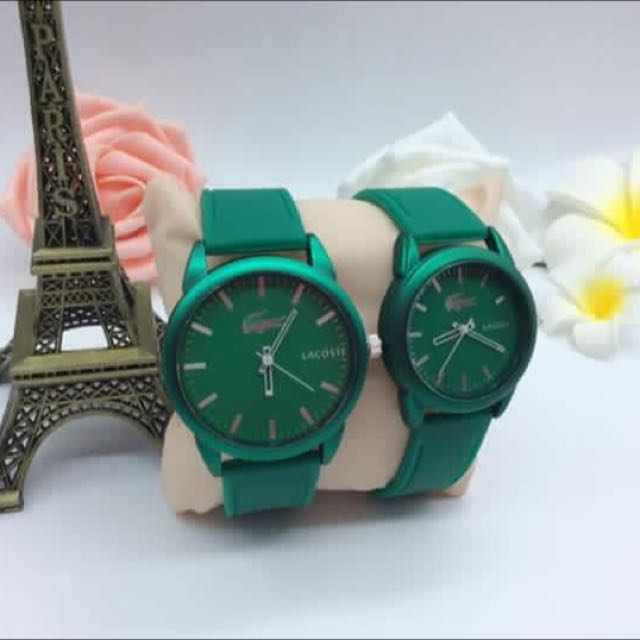 *COD* Lacoste Couple Watches With Box
