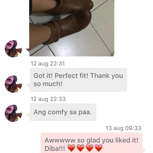 Feedback From Buyer