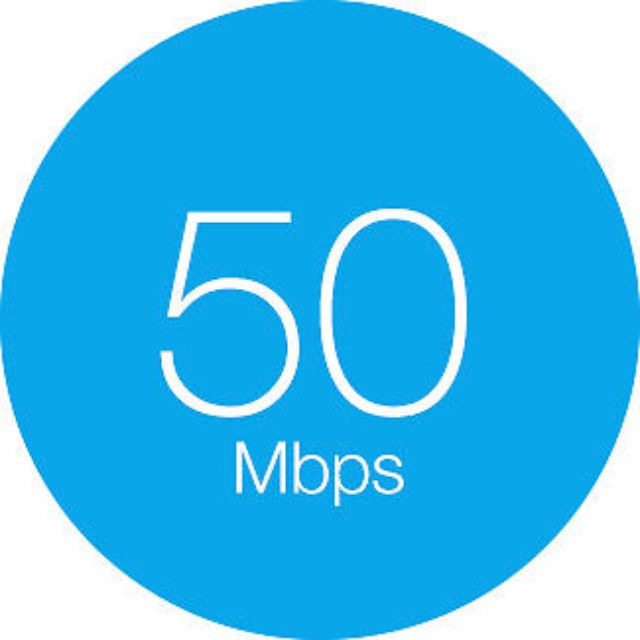 Fibe 50 High Speed unlimited internet
