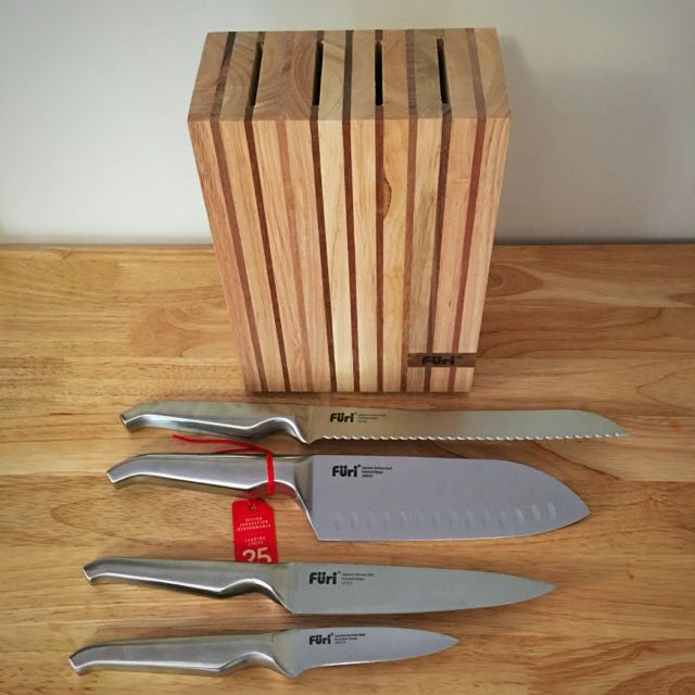 Furi Pro 5pce Wooden Block