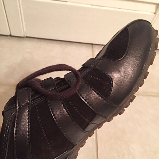 Geox Genuine Leather Running Shoes