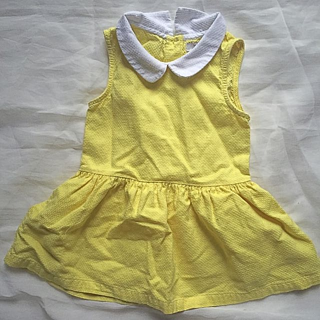 Gingersnaps yellow dress