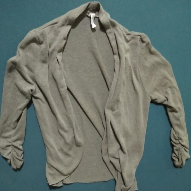 Gray Cardigan small-med