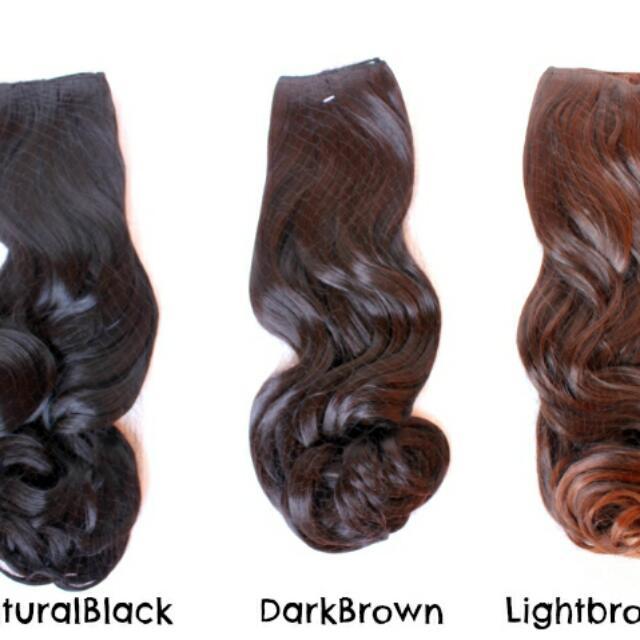 Hairclip Curly 65cm