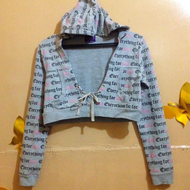 Herbench Hooded Bolero Jacket