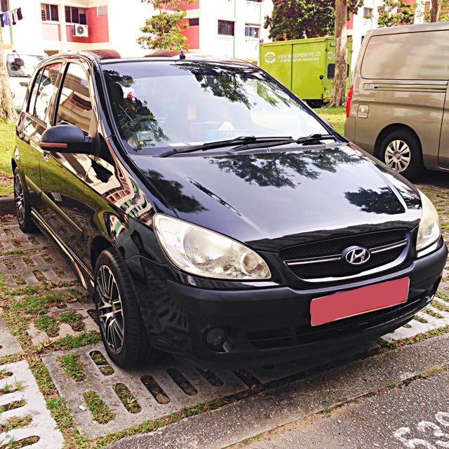 Hyundai Getz 1.1m Black (ROPC Scheme)