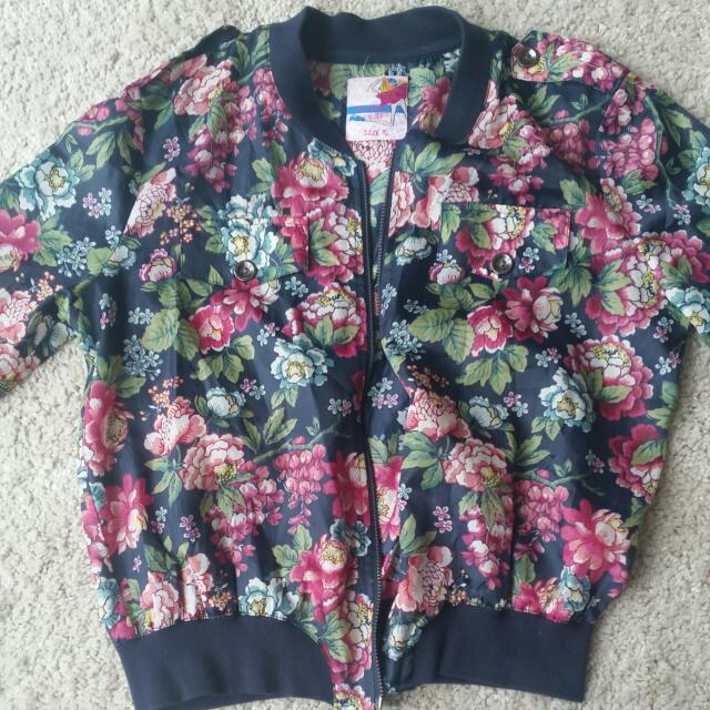 Jacket With Flowers