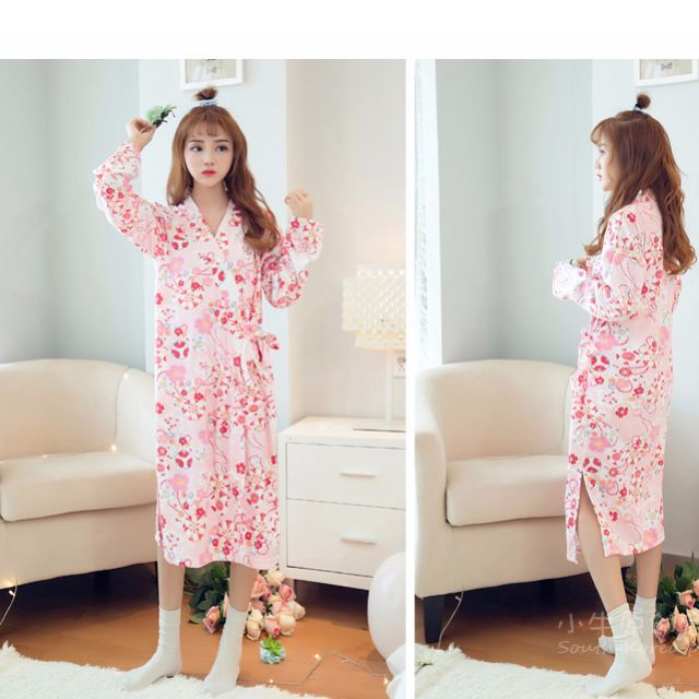 871d221ff3 Japanese Style Pajamas Sleeping wear Home Clothes