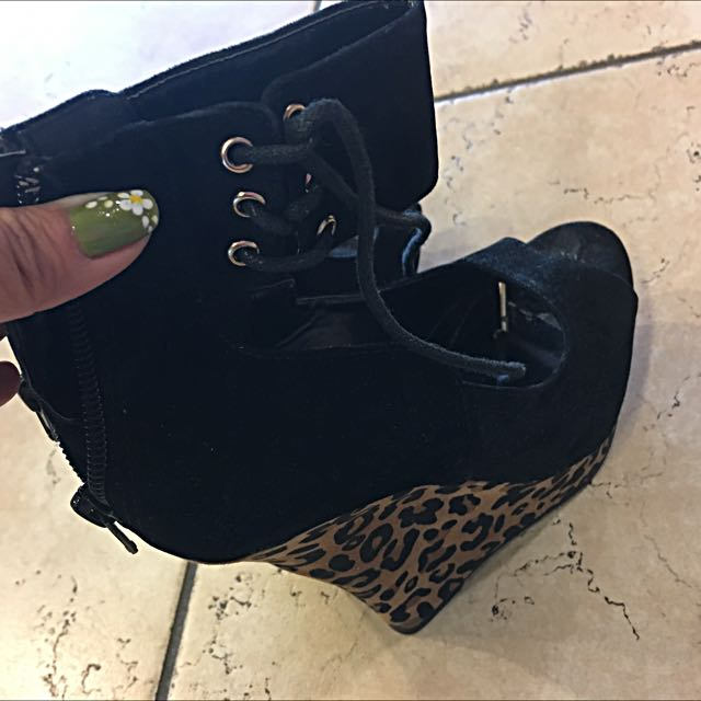 JustFab Wedge Shoes