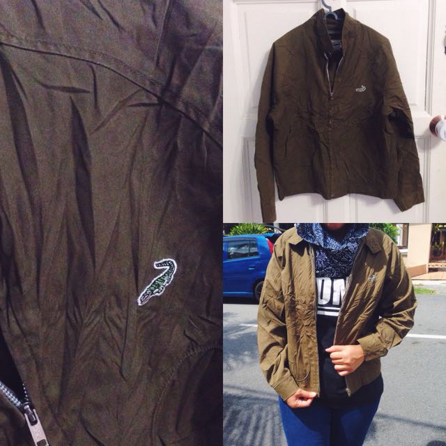 Lacoste Green Army Parka