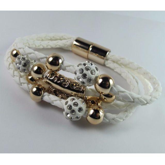 Magnetic Leather Bracelets