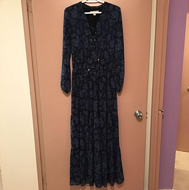 MICHAEL KORS Paisley Maxi Dress