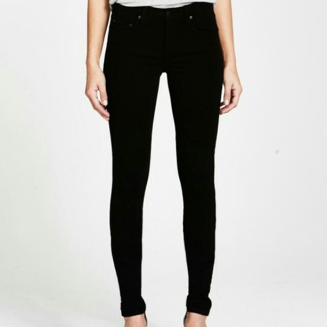NOBODY denim Geo Skinny Jeans Size 24/6