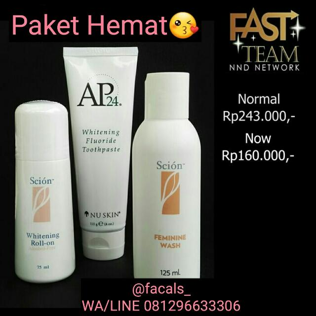 Nu Skin Scion Roll, Ap24, Scion Feminine Wash