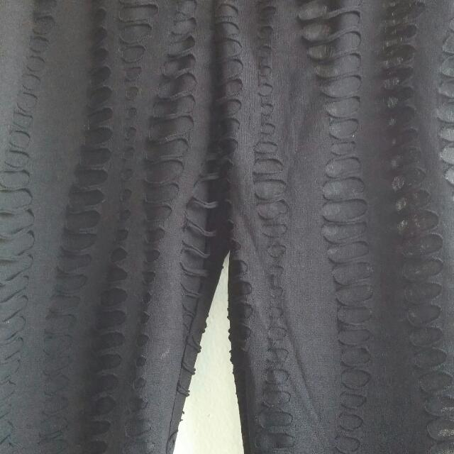 NWOT Black Tights Size Small