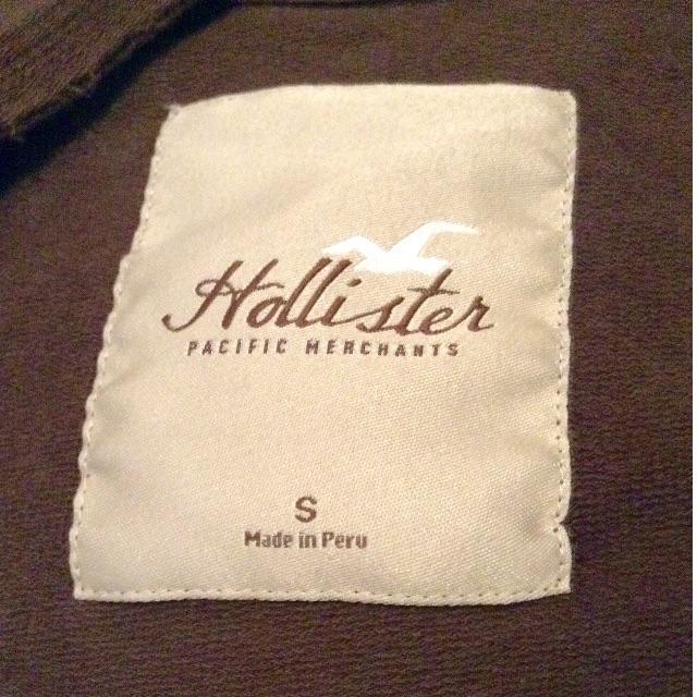 Original Hollister hoodie
