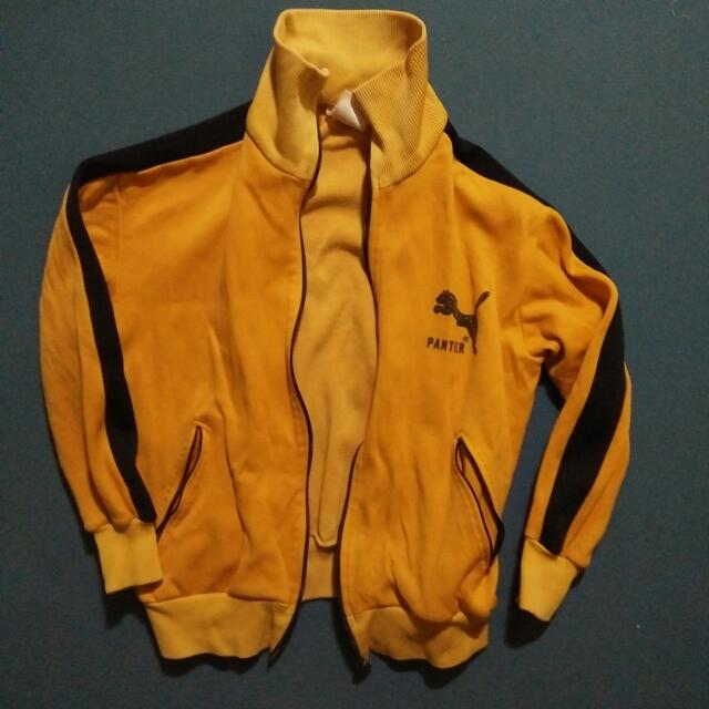 Panther Yellow Orange Jacket M