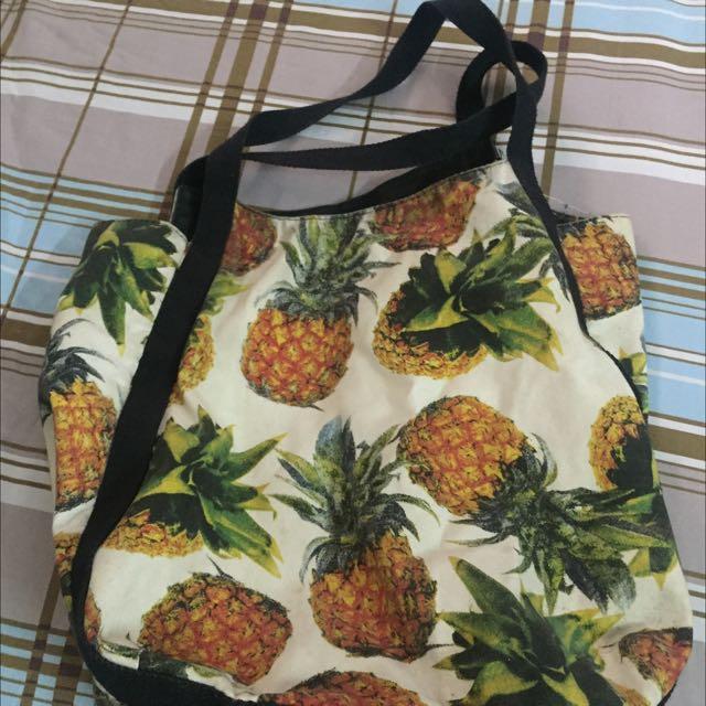 Pineapple Hand Bag