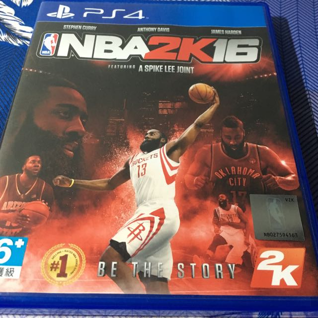 Ps4 NBA 2k16 二手美品 無刮傷