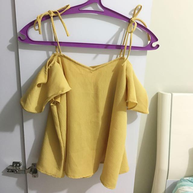 Sabrina Kuning / Atasan Kuning