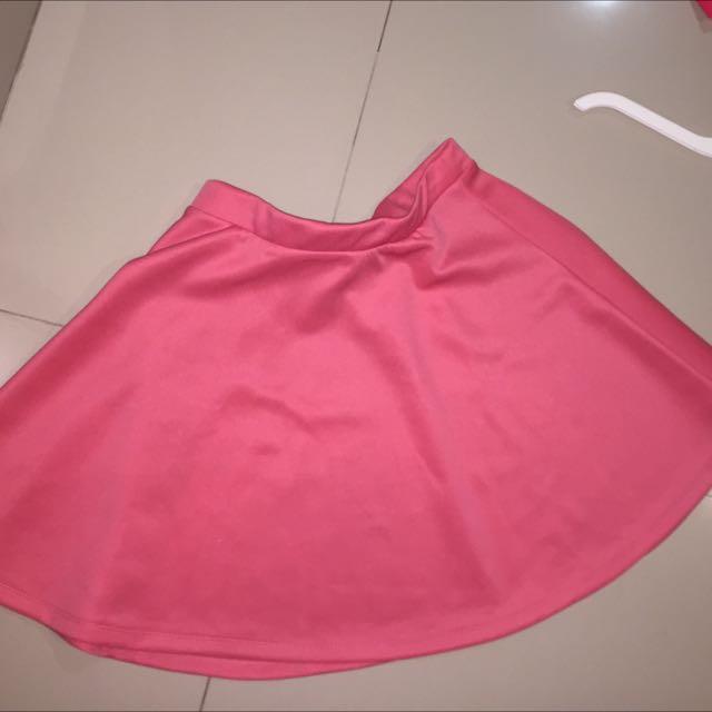 Shocking - Hot Pink Skirt Rok