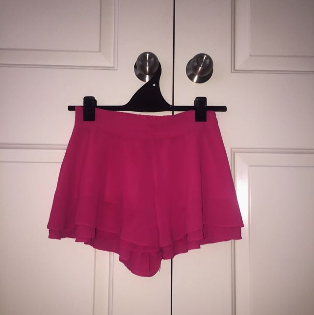 Showpo Pink Skort
