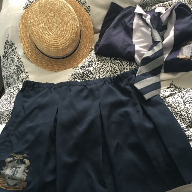St Sold Pending Trinians Authentic Costume Size Medium