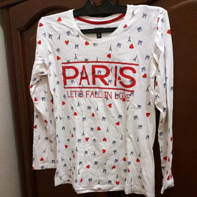 Super T- Paris Longshirt