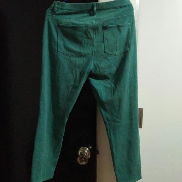 Uniqlo Teal Jeggings L
