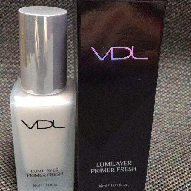 VDL 限量粉紅色 妝前乳