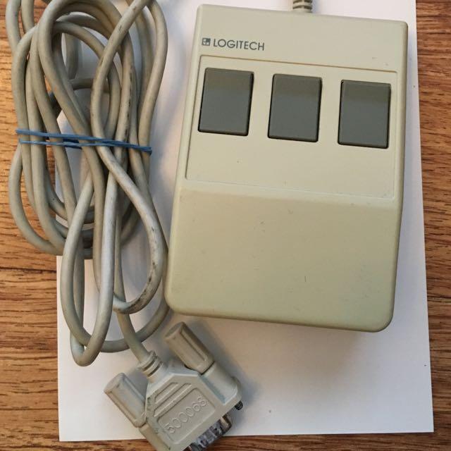 Vintage Logitech C7 Mouse