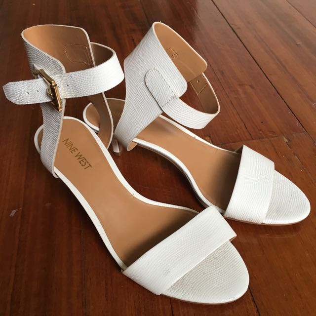 White Sandal By Nine West