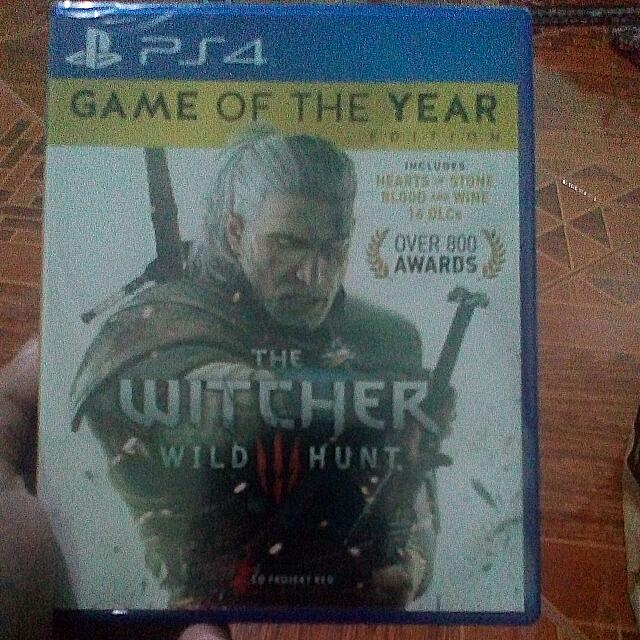 Witcher 3 Game Of The Year Edition
