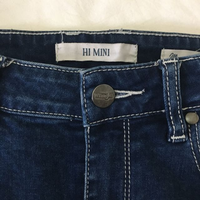 Wrangler Hi-mini Skirt