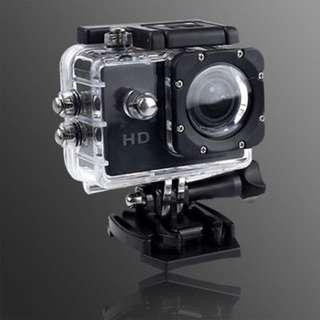 pqi 32G micro記憶卡+Gmate HD1 廣角微型運動防水型攝影機 (可當行車記錄器) (尊爵黑)