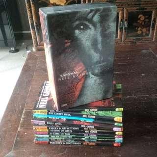 Sandman by Neil Gaiman (complete set with slip case)