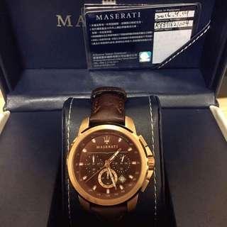 Maserati瑪莎拉蒂 錶