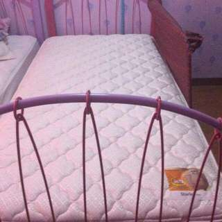 Single Size Bed With Mattress For Sale