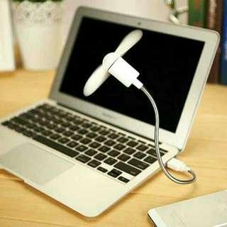 Stainless Steel Portable USB Fan