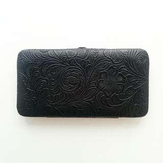 Black Clasp Wallet