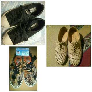 !!TAKE ALL!! (Vans,  Converse Nude Flats)